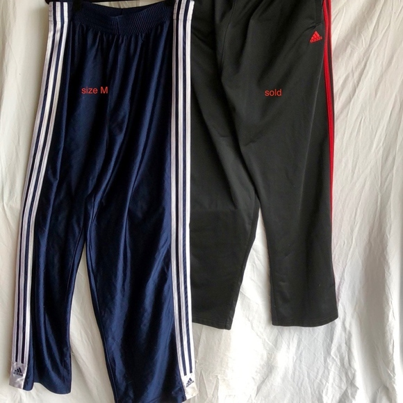 adidas pants buttons